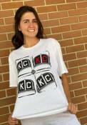 Kansas City Monarchs Rally Warhol BW Fashion T Shirt - White