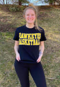 Iowa Hawkeyes Basketball T Shirt - Black