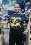 Pittsburgh Crawfords Rally World Champs Fashion T Shirt - Black