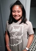 Rally Drink Local Fashion T Shirt - Olive