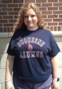 Duquesne Dukes Alumni T Shirt - Navy Blue