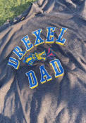 Drexel Dragons Dad Number One Fashion T Shirt - Charcoal