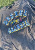 Drexel Dragons Grandpa Number One Fashion T Shirt - Charcoal