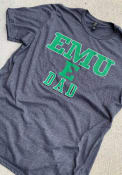 Eastern Michigan Eagles Dad Number One Fashion T Shirt - Charcoal