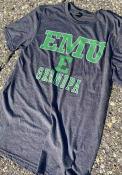 Eastern Michigan Eagles Grandpa Number One Fashion T Shirt - Charcoal