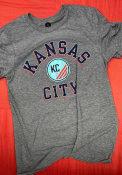 KC NWSL Rally Heart And Soul Fashion T Shirt - Grey