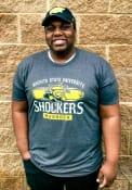 Wichita State Shockers Black Shock Tee