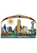 Dallas Ft Worth Multi Layer Colored Ornament