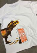 Whataburger Texas Youth White T-Rex Short Sleeve T Shirt