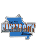 """""""Greetings From Kansas City"""" Ornament"""