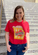 Mother's Brewing Company Heather Red MO Beer Short Sleeve T-Shirt