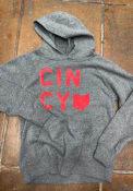 Cincinnati Youth Rally State Home Hooded Sweatshirt - Grey