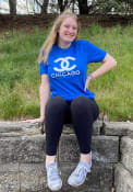 Chicago Womens Rally CC Wordmark T-Shirt - Blue