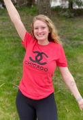 Chicago Womens Rally CC Wordmark T-Shirt - Red