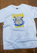 Cincinnati Youth Rally Fiona the Hippo Peaking Out of Water Fashion T-Shirt - Light Blue