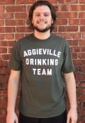 Manhattan Rally Drinking Team T Shirt - Tan