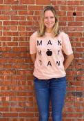Manhattan Rally Block Apple Fashion T Shirt -