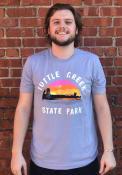 Manhattan Rally Tuttle Creek Fashion T Shirt - Light Blue
