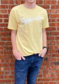 Manhattan Rally RH Script T Shirt - Yellow