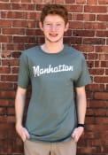 Manhattan Rally RH Script T Shirt - Green