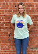 Kansas Rally No Coast Fashion T Shirt - Teal