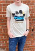 Manhattan Rally Retro Bus Fashion T Shirt - Tan
