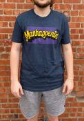 Manhattan Rally Manhapenin Fashion T Shirt - Navy Blue