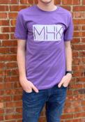 Manhattan Rally MHK State Shape Fashion T Shirt - Purple