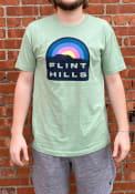 Kansas Rally Flint Hills T Shirt - Olive