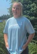 Cincinnati Rally RH Script T Shirt - Light Blue