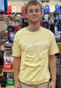 Cincinnati Rally RH Script T Shirt - Yellow