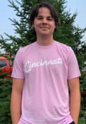 Cincinnati Rally RH Script Fashion T Shirt - Purple