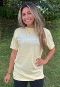 Chicago Rally RH Script T Shirt - Yellow