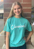 Cleveland Rally RH Script T Shirt -