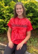 Cincinnati Rally Retro Script T Shirt - Red