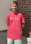 Ohio Rally Dots Fashion T Shirt - Red