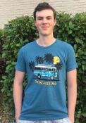 Missouri Rally Bus Fashion T Shirt - Teal