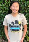 Missouri Rally Bus Fashion T Shirt - Tan