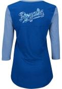 Kansas City Royals Womens Above Average Blue Plus Size T-Shirt