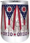 Ohio 18oz Stainless Steel Tumbler - White