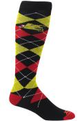 Ferris State Bulldogs Mens Black Team Argyle Socks