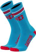 Dayton Flyers Throwback Crew Socks - Red