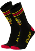 Ferris State Bulldogs Throwback Crew Socks - Red
