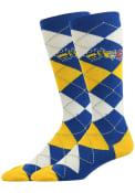 Drexel Dragons Argyle Argyle Socks - Blue