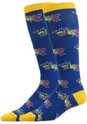 Drexel Dragons Allover Dress Socks - Blue