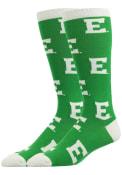 Eastern Michigan Eagles Allover Dress Socks - Green