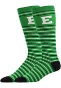 Eastern Michigan Eagles Stripe Dress Socks - Green