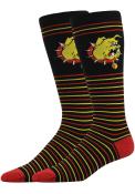 Ferris State Bulldogs Stripe Dress Socks - Red