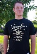Original Retro Brand Strohs Black Logo Short Sleeve T Shirt