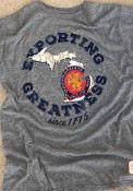 Original Retro Brand Storhs Grey Exporting Greatness Short Sleeve T Shirt